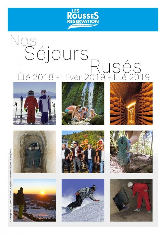 """Notre brochure """"Séjours Rusés"""""""