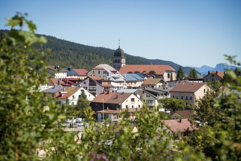 Plan village des Rousses