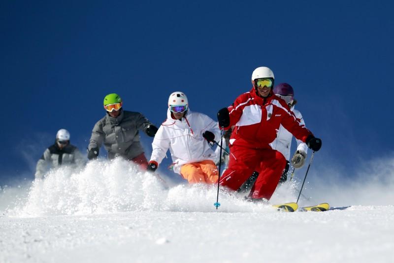 En hiver : ski, activités