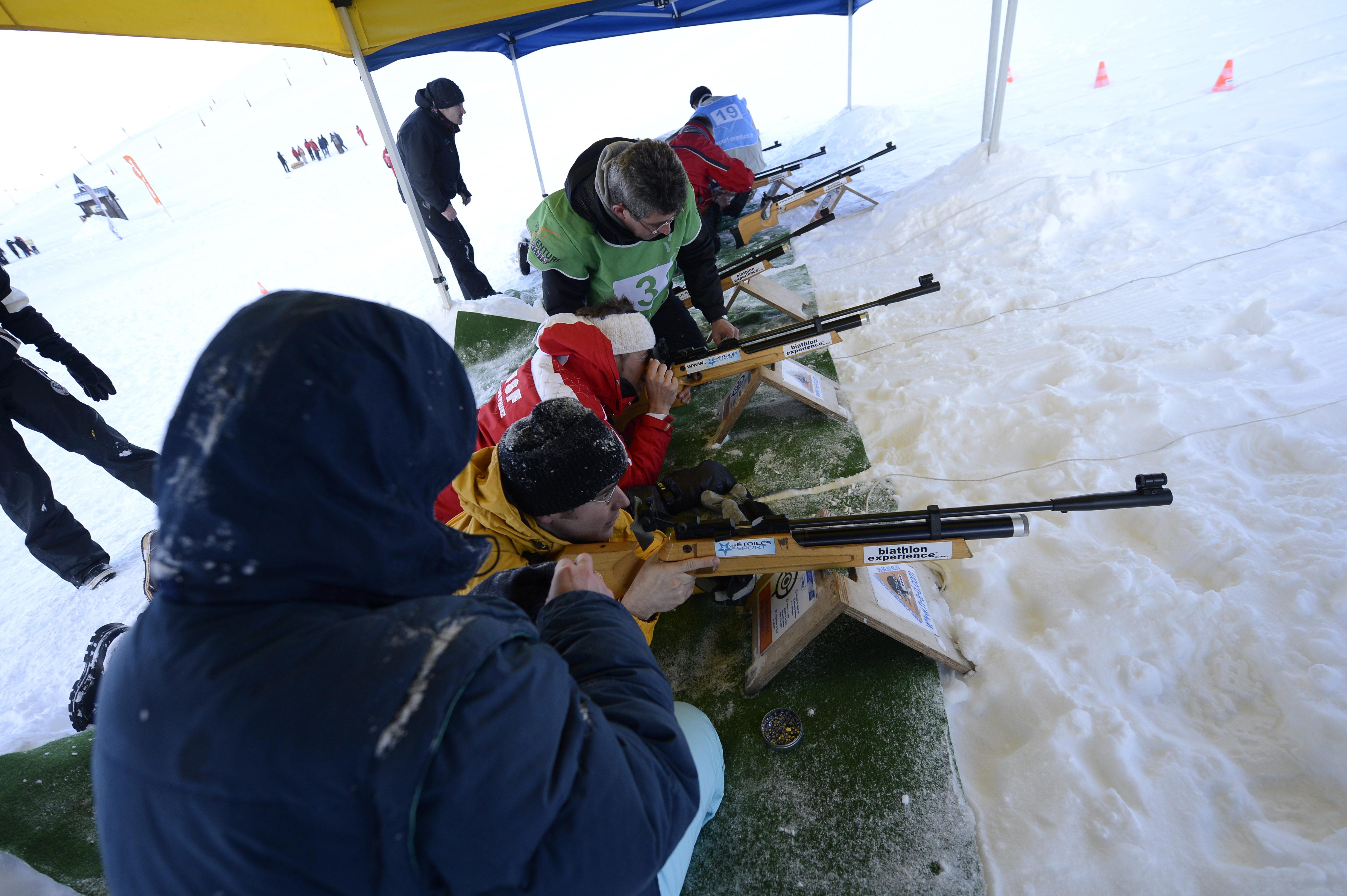 Activites - Groupes - Jura - hiver - Station des Rousses - Ski - Biathlon -EVG/EVJF - Anniversaire