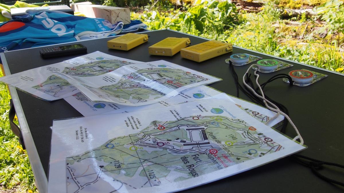 cours d'orientation - gourmande -activité - groupes - jura - nature -station des rousses