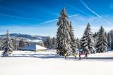 Sejour- skide fond - raquettes - locations de vacances - Jura - Station des Rousses