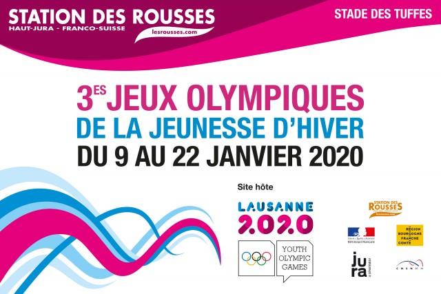 JOJ - Jeux Olympiques de la jeunesse - Station des Rousses - Stade des Tuffes