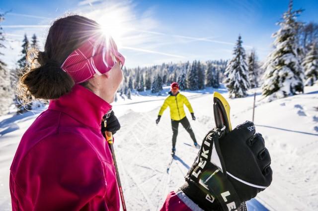 Sejour- ski de fond - locations de vacances - Jura - Station des Rousses