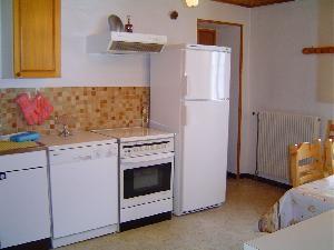 Appartement - Maison - Cuisine - Vacances - Station des Rousses - Jura