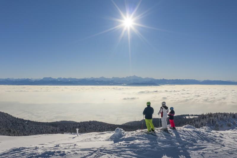 Sejour- ski - locations de vacances - Jura - Station des Rousses