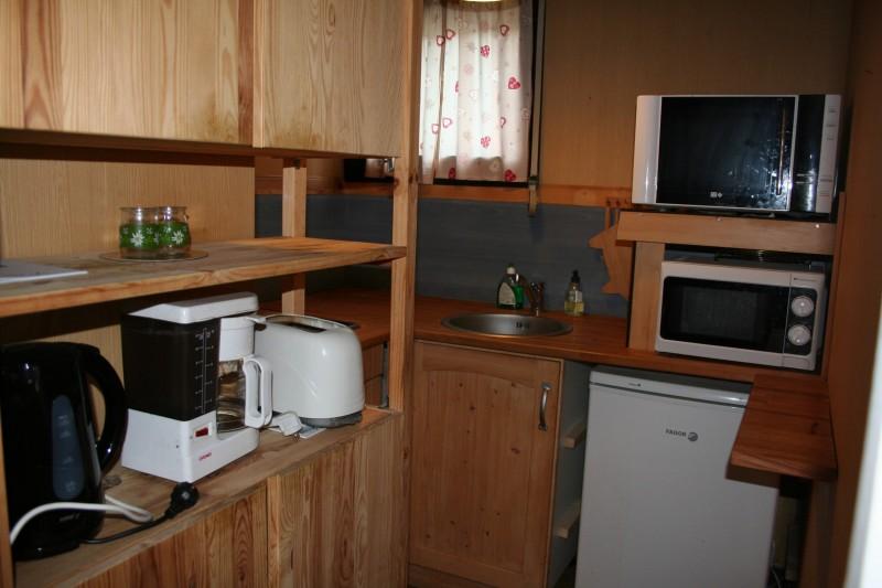 Studio - Appartement - cuisine - Station des Rousses - Jura - Vacances