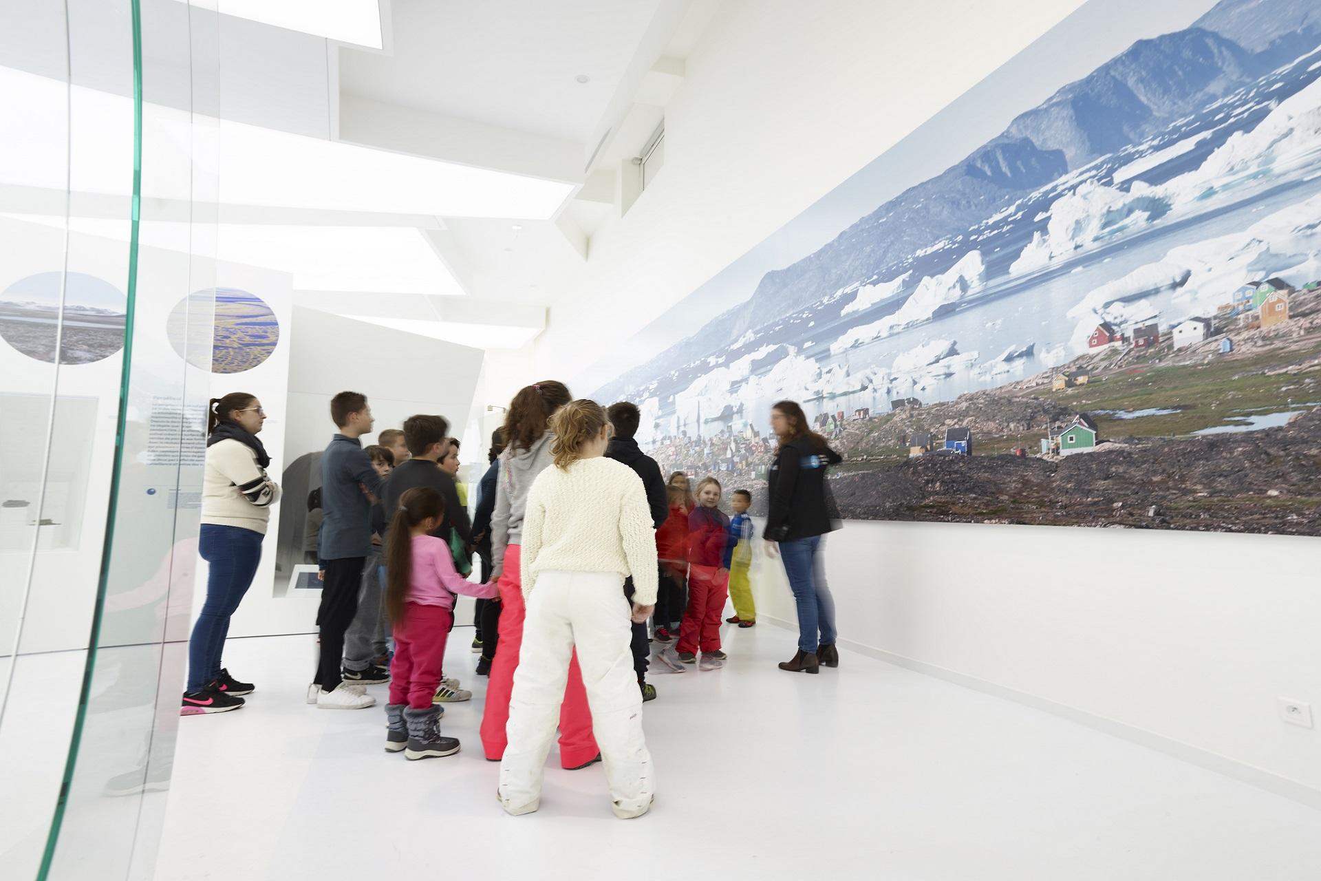 Musée des Mondes Polaires - Activité - Station des Rousses - Jura - Groupe