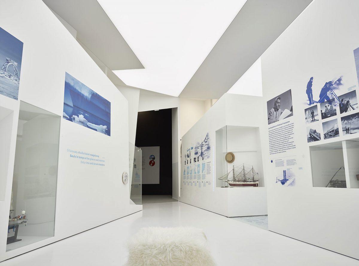 Musée des Mondes Polaires - Station des Rousses - Groupe - Jura