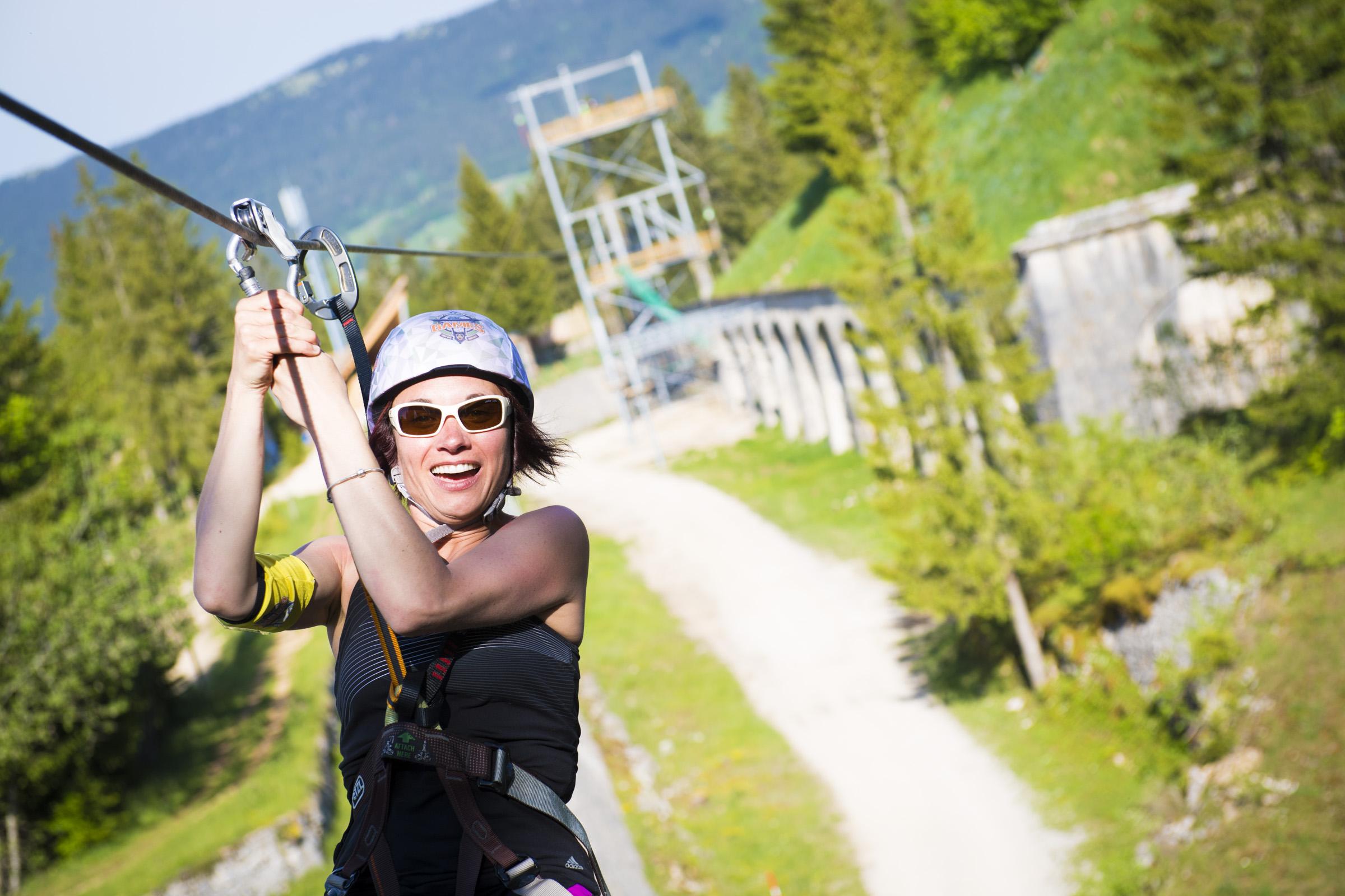 Parcours Commando - Activités - Station des Rousses - Jura - Groupe