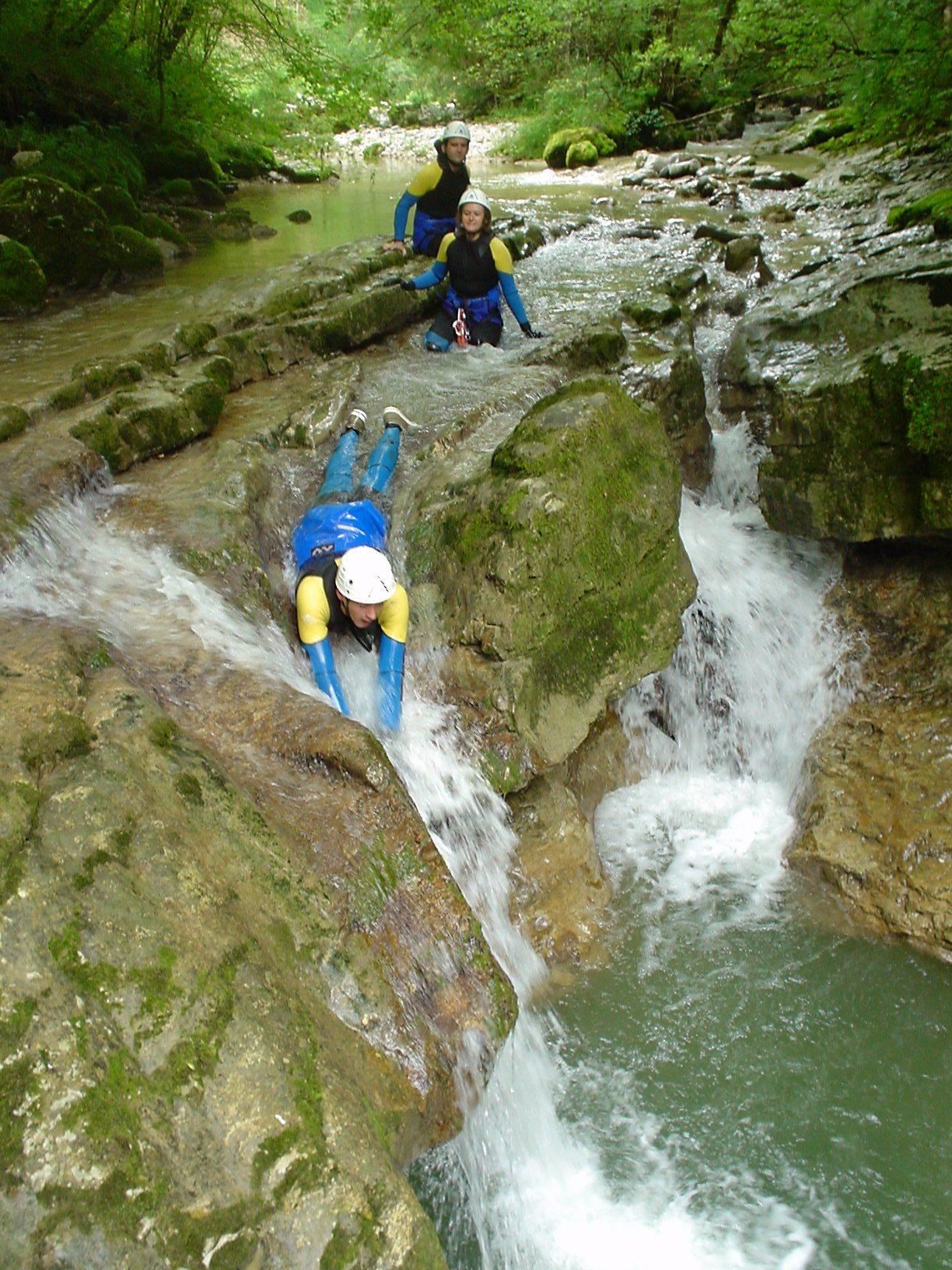Randonnée Aquatique - Activités Sensation - Station des Rousses - Jura - Groupe