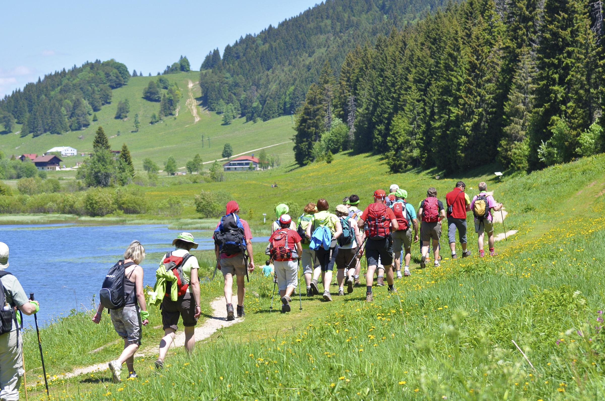 Randonnée - Station des Rousses - Activités - Groupe - Jura