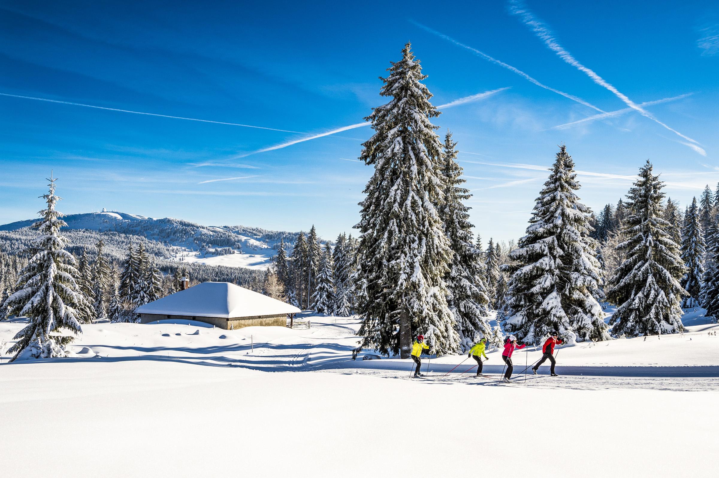 Ski de Fond - Station des Rousses - Tarifs - Groupe