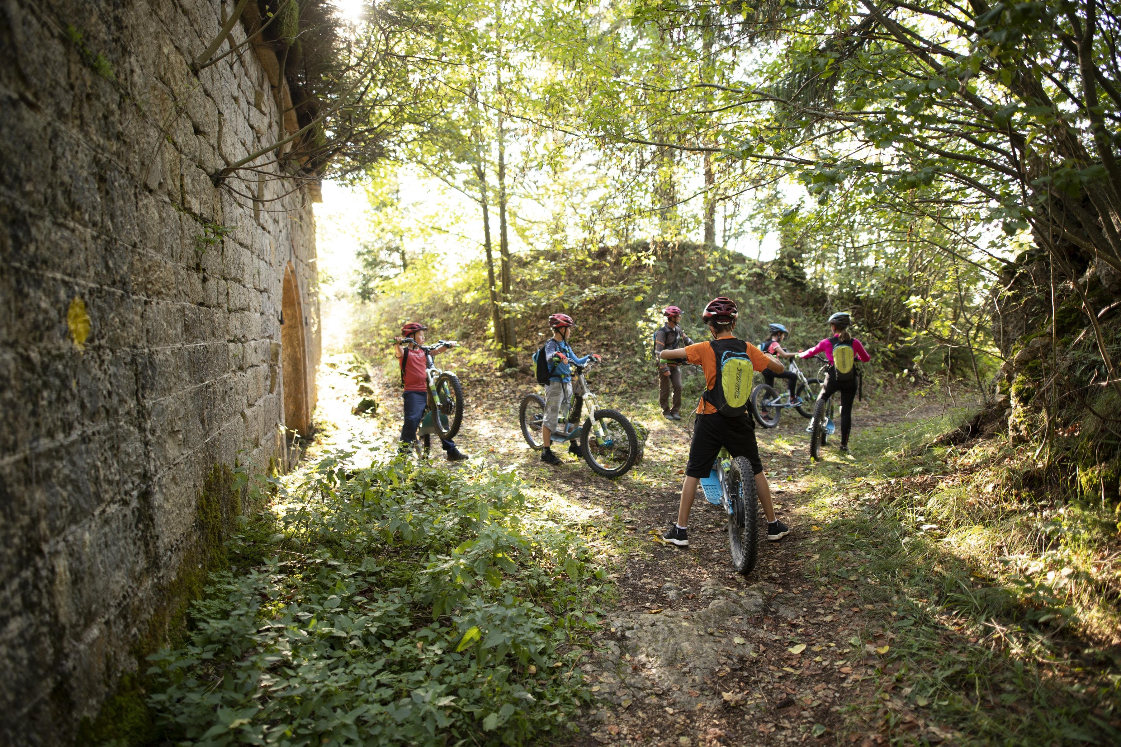 VTT - Activites - Station des Rousses - Jura - Groupe